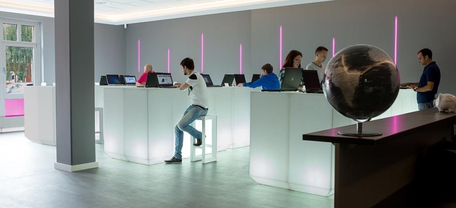 Ladengeschäft Luxnote Hannover Ausstellungsraum