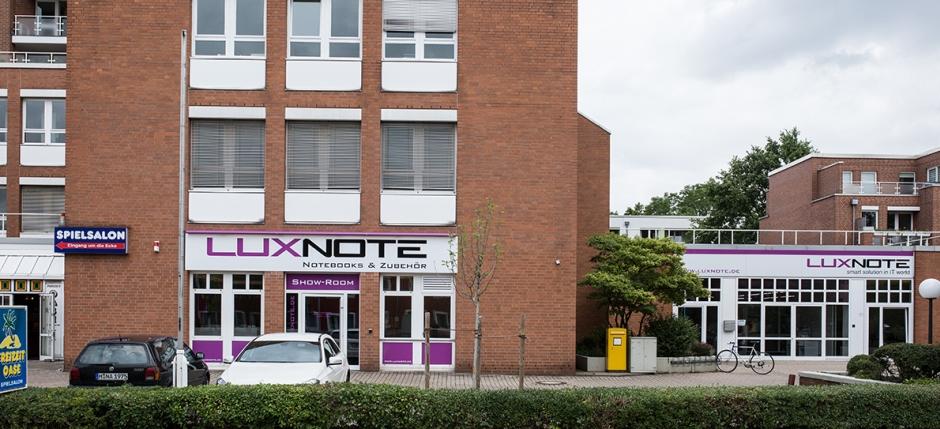 Ladengeschäft Luxnote Hannover