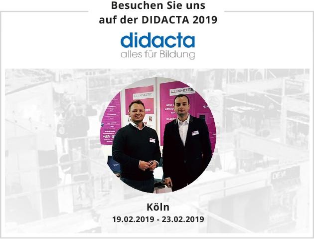 Luxnote Bildungsmesse Didacta 2019